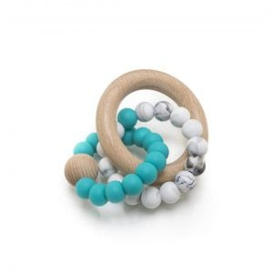 Muncher Teether Rattle - #01 Aqua