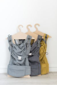 Earthy linen collection colours