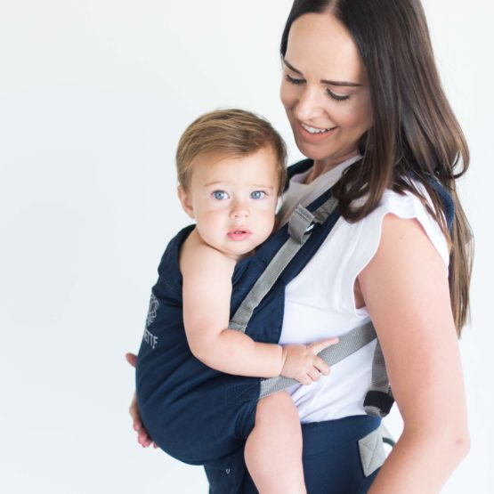Classic Cotton Carrier Navy