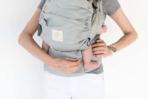Luxury Hemp Afican Sage Baby Carrier