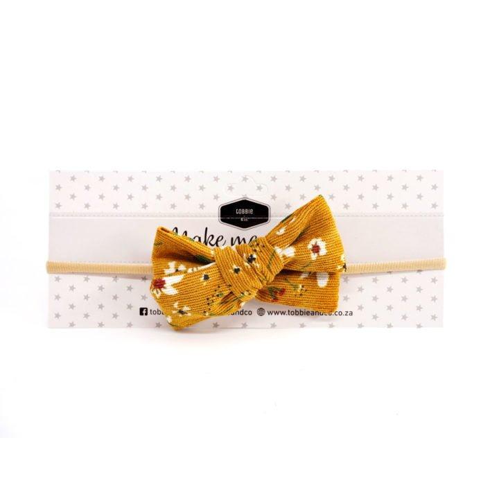 Fabric Hedband Mustard