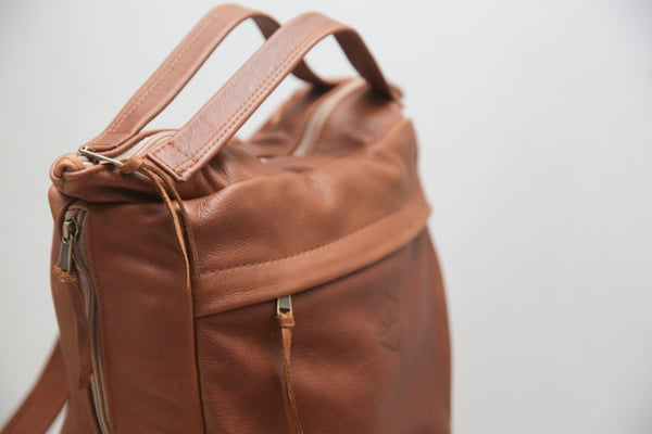 quality leather nappy bag